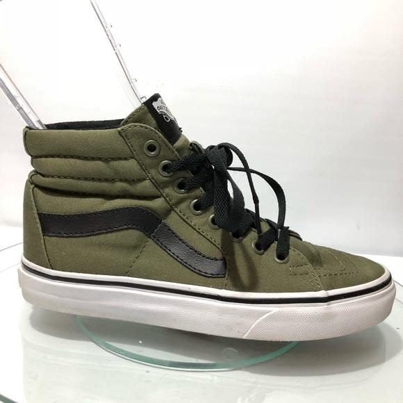 Vans Shoes | Vans Army Green Sneakers